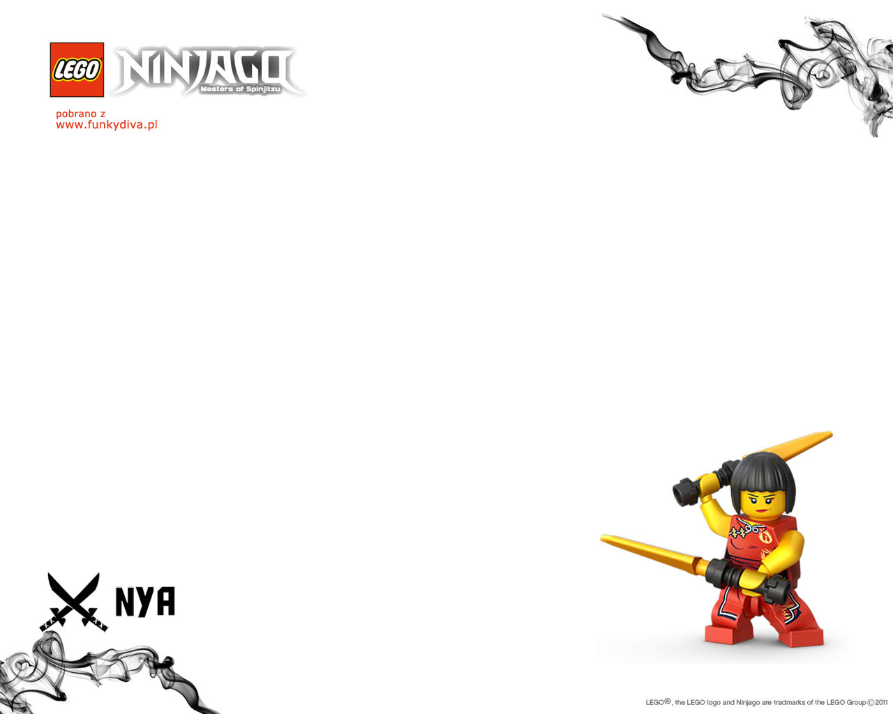 Lego Ninjago Tapeta Wallpaper 4 Fd