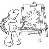 Franklin_coloring_pages_1