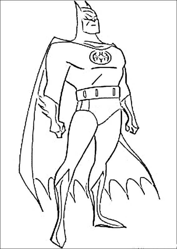 Batman Kolorowanki 17 Fd