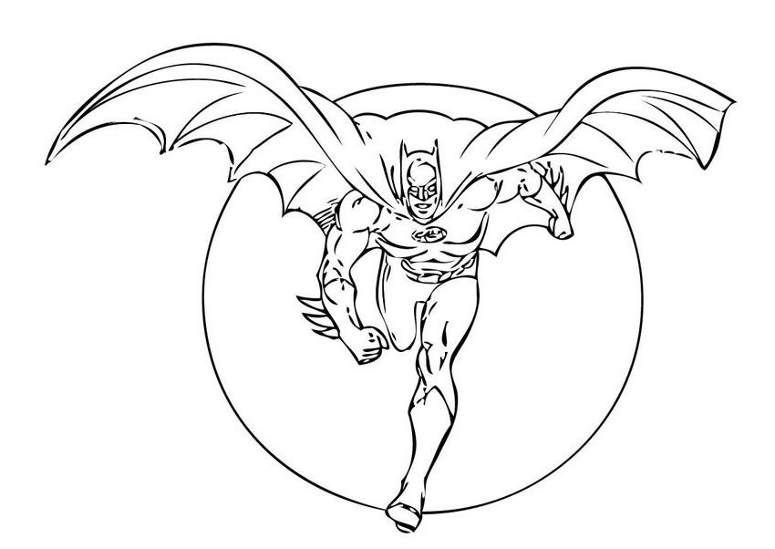 Batman Kolorowanki 6 Fd