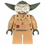 Yoda budzik Lego