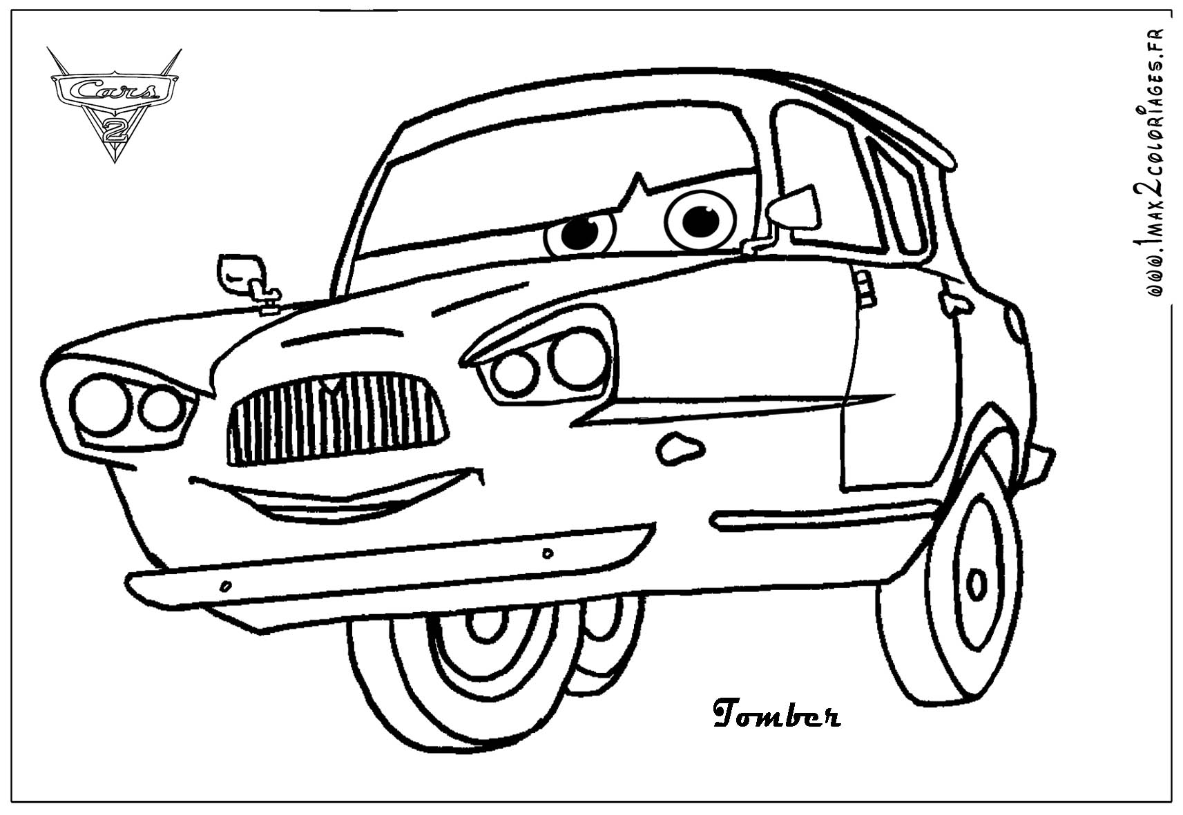 Cars And Cars 2 Coloring Pages Coloring Pages Cars 2 Coloring Pages
