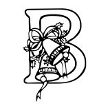 christmas-alphabet-coloring-pages-B