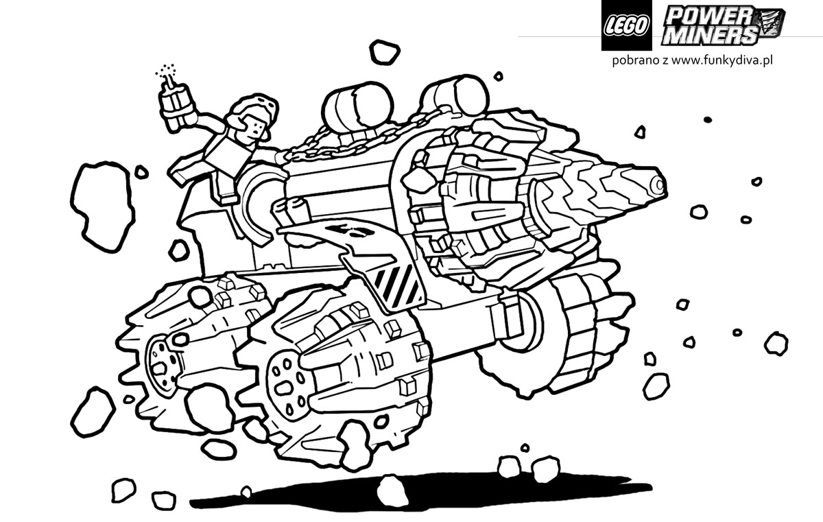 Lego Coloring Pages - Coloring Pages