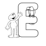 elmo-alphabet-coloring-pages-E-425x550