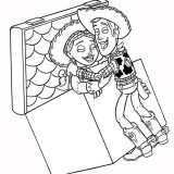 jesse and woody coloring page toy story