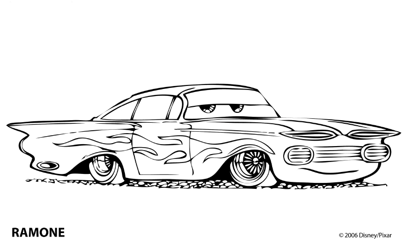 Cars and Cars 2 - Coloring Pages - Coloring Pages