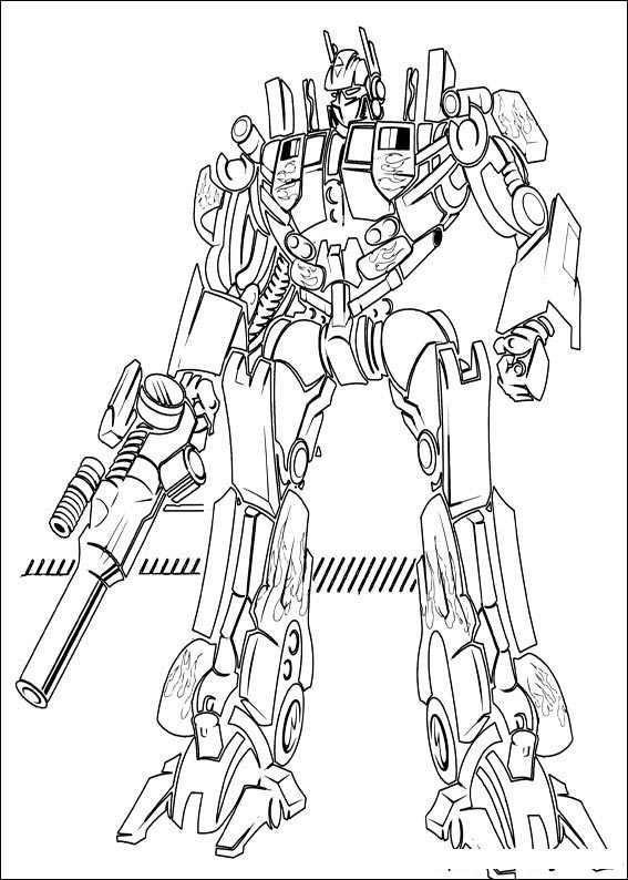Kolorowanki Transformers 24 Fd