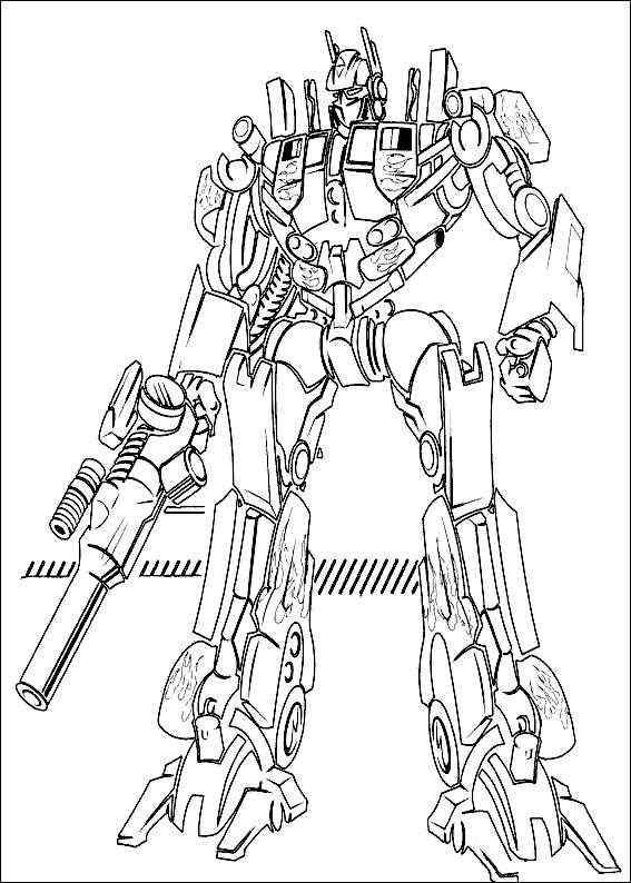 Kolorowanki Transformers 47 Fd