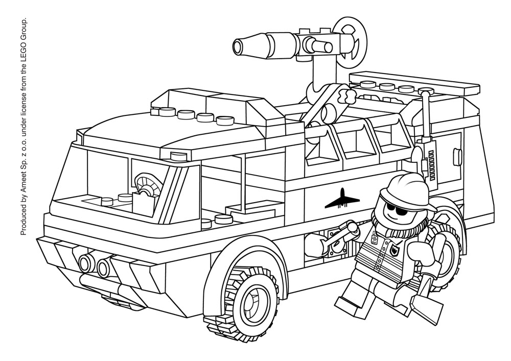 Free Coloring Pages Of Kolorowanki Lego The Lego Coloring Pages
