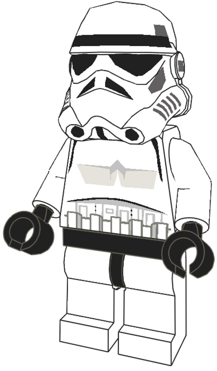 Coloring pages lego star wars - Lego Star Wars 3 Kolorowanki