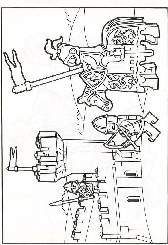 Lego coloring pages Coloring