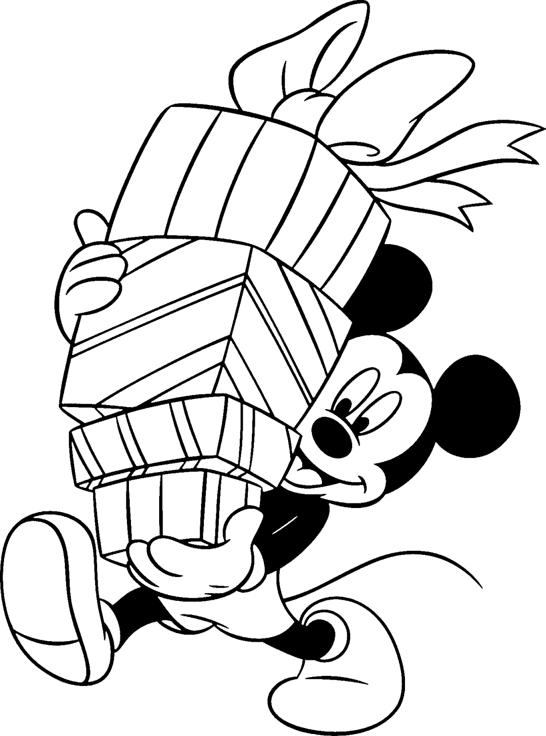 mickey mouse printable coloring pages - photo#11