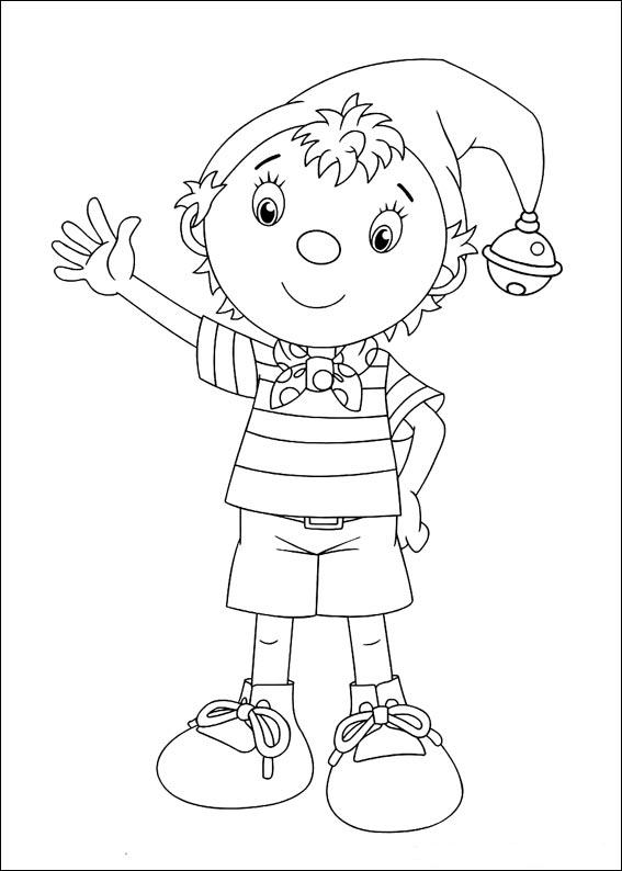 noddy coloring pages - kolorowanki noddy fd