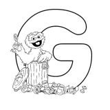 oscar-alphabet-coloring-pages-G-425x550