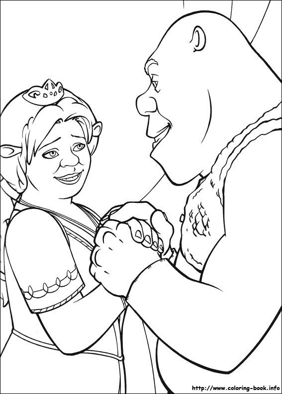 Shrek Coloring Pages Coloring Pages