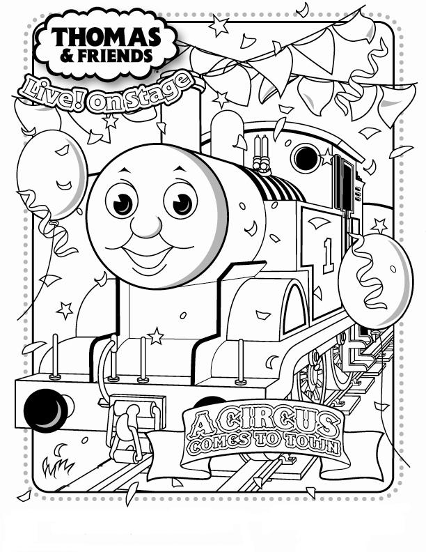 thomas friends coloring pages free - photo#33