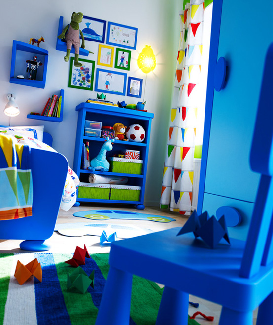 Ikea pok j dla dziecka inspiracje design fd - Deco kamer bebe blauw ...