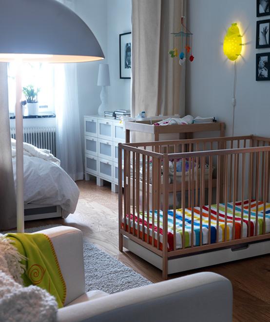 Ikea pok j dla dziecka inspiracje design fd for 1 bedroom apartment nursery ideas