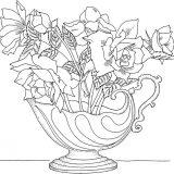 kwiaty kolorowanki do druku dla dzieci (2)