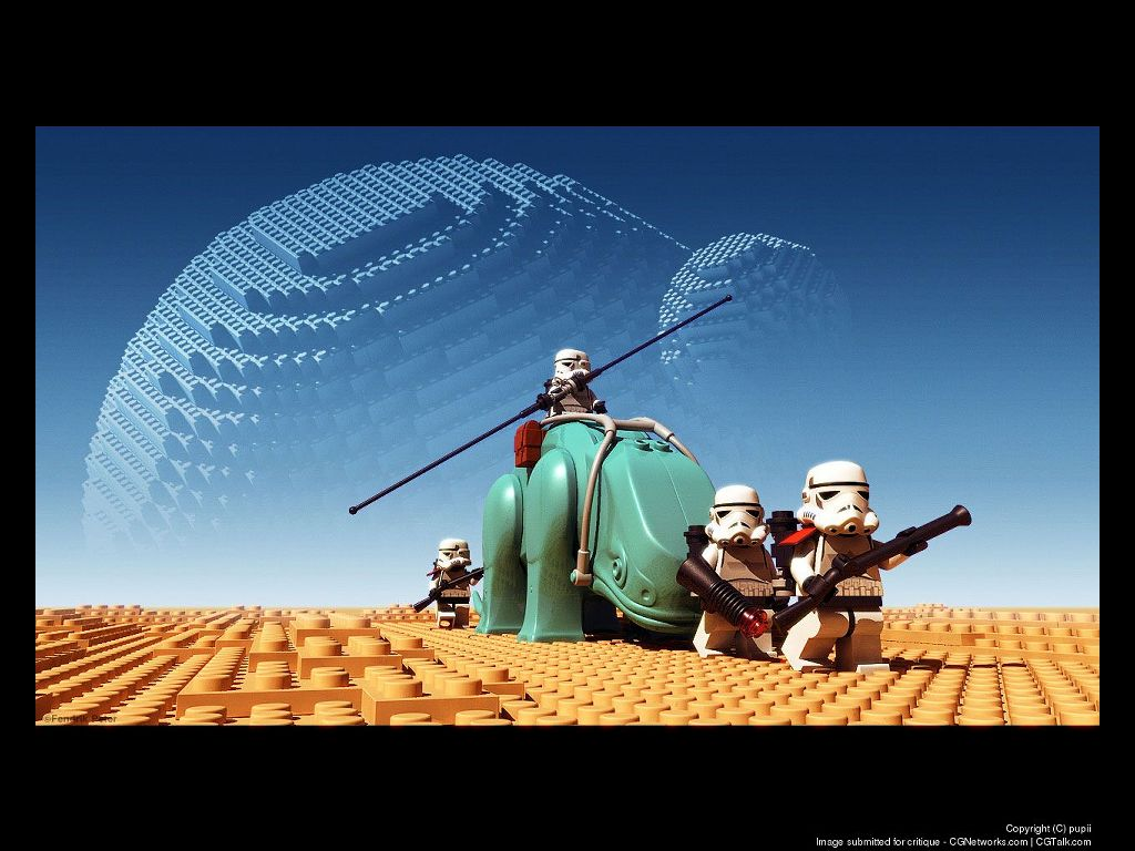 Lego star wars tapety na pulpit fd - Image star wars lego ...