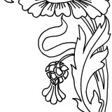 zinnia-flower-coloring-page