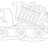 Dumptruck-with-stones-coloring-page