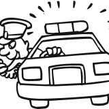 Policeman-is-pursuiting-robber-coloring-page