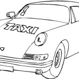 VIP-taxi-coloring-page