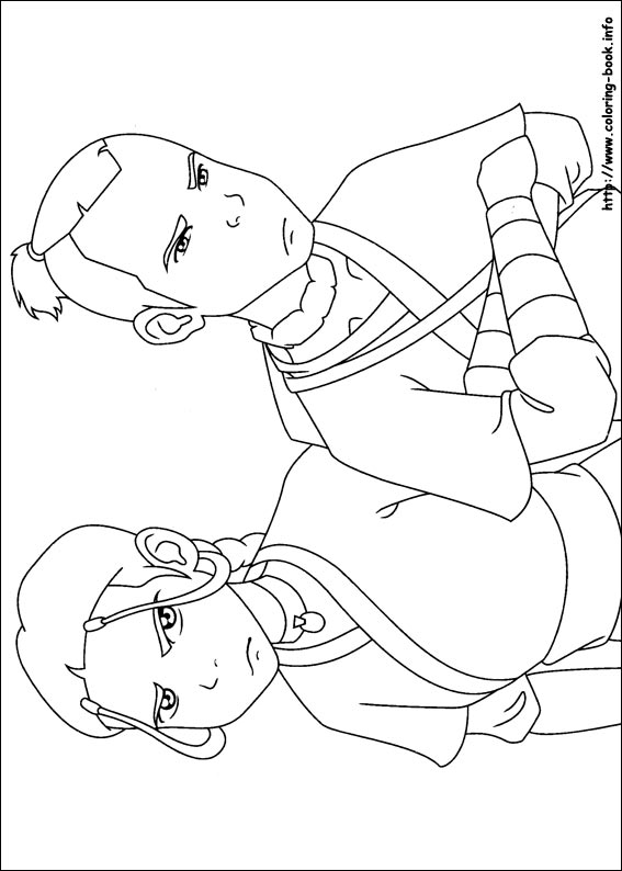 Avatar: The Last Airbender - coloring pages - Coloring ...