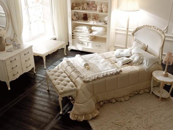 Luksusowa Sypialnia Dla Dziewczynki Notte Fatata Kolekcja