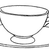 Cup-and-saucer-coloring-page