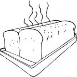 Fresh-bread-on-baking-sheet-coloring-page