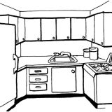 Kitchen-coloring-page