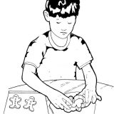 Setting-cookies-on-the-baking-tray-coloring-page