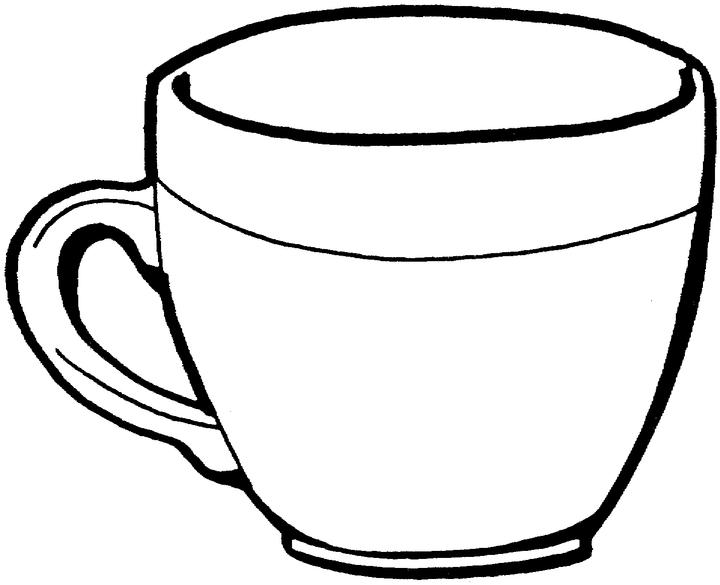 coloring pages teacup - photo#23