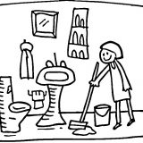 cleaning-the-bathroom-coloring-page