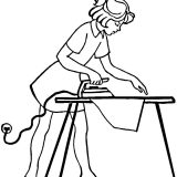 ironing-coloring-page