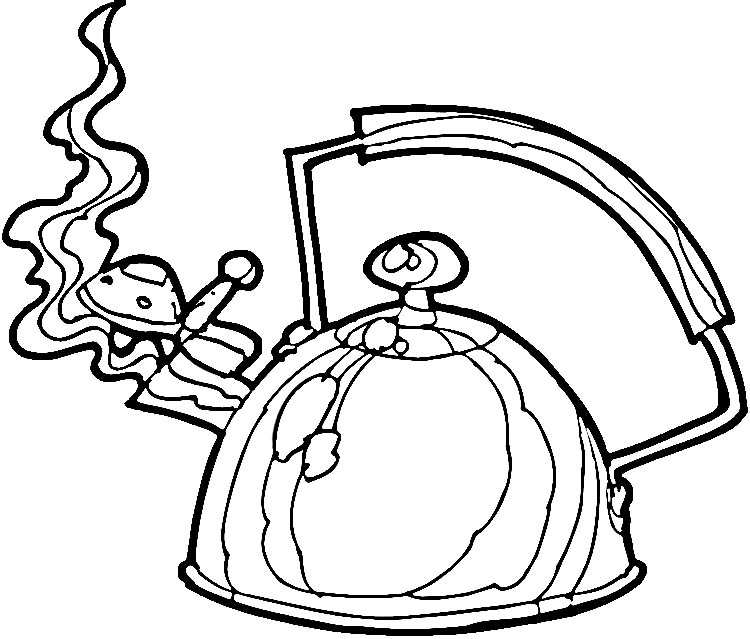 coloring pages kettle coloring pages printable