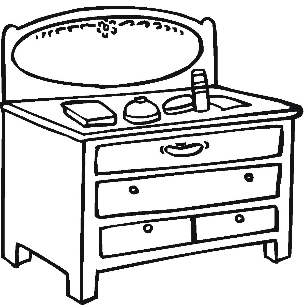 tables coloring pages - photo #32