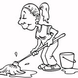 washing-the-floor-coloring-page