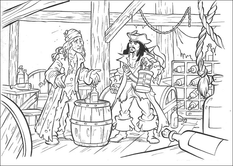 Piraci Z Karaibow Kolorowanki 9 Fd