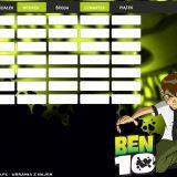 Ben 10 plan lekcji