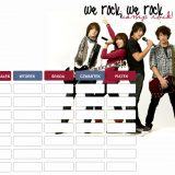 Camp Rock plan lekcji