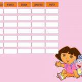 Dora plan lekcji