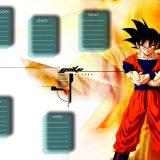 Dragon Ball plan lekcji