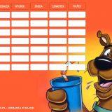 Scooby Doo plan lekcji