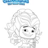 coloring disney universe-the-video-game