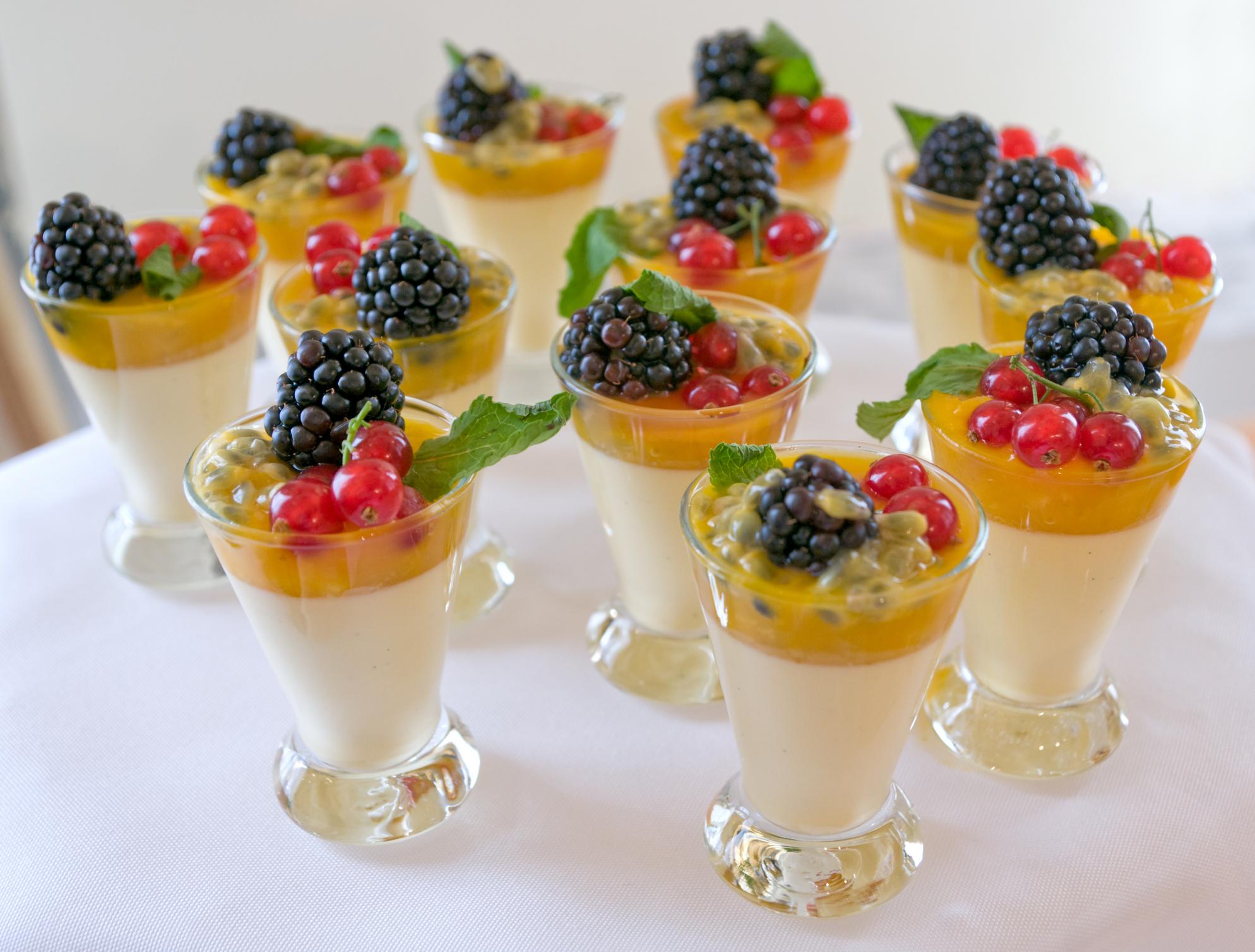 ягодные десерты рецепты для детей-хв5