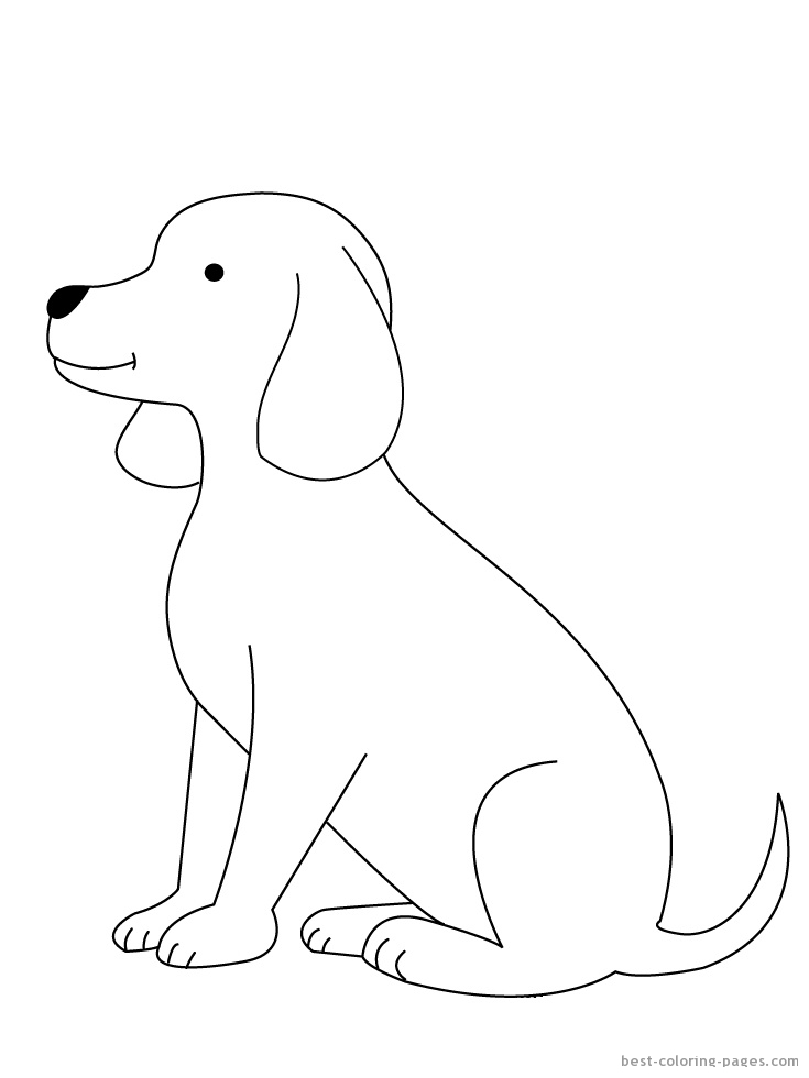 Kolorowanki Pies Fd
